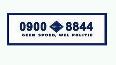 Geen Nood Wel Politie.0900 8844